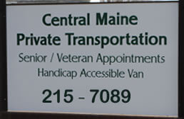 Central Maine Private Transporation services.